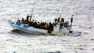 Boat Refugees - Public Domain
